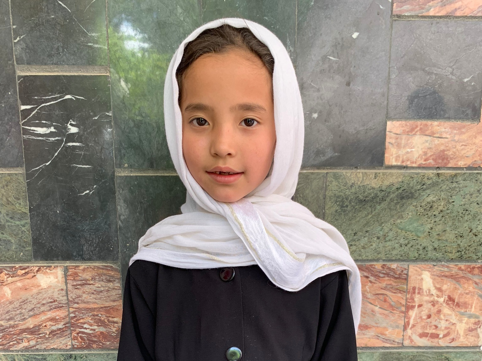 Harzo, Age 8 - Harzo has 6 siblings. Her mother and father are both unemployed.BE HARZO'S PARTNER>