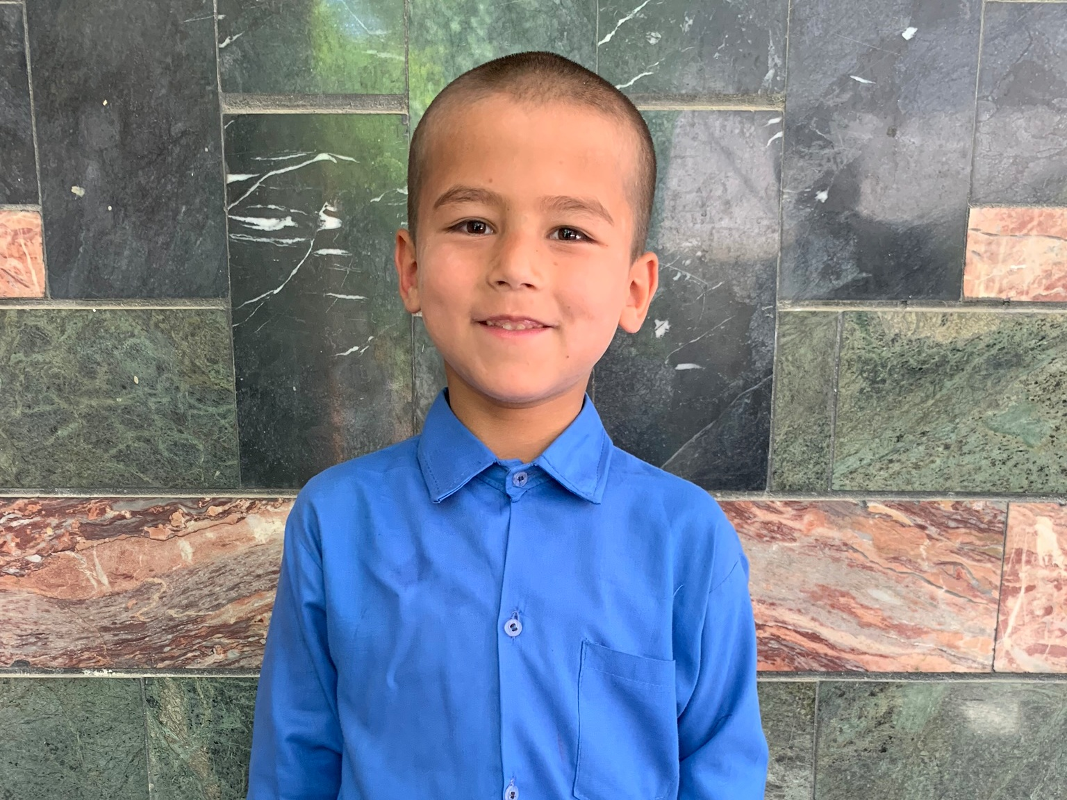 Qhgatebia, Age 7 - Qhgatebia has 8 siblings. His mother is currently unemployed. His father is a driver.BE QHGATEBIA'S PARTNER >