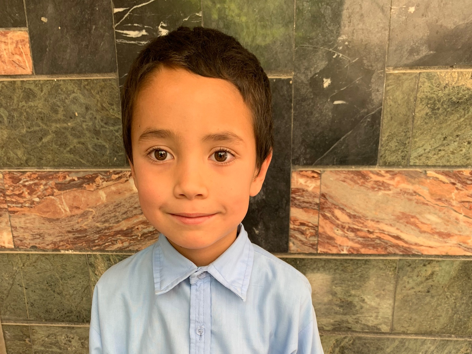 Mahdai, Age 7 - Mahdai has 5 siblings. His mother does not have work at this time. His father is a cook.BE MAHDAI'S PARTNER>
