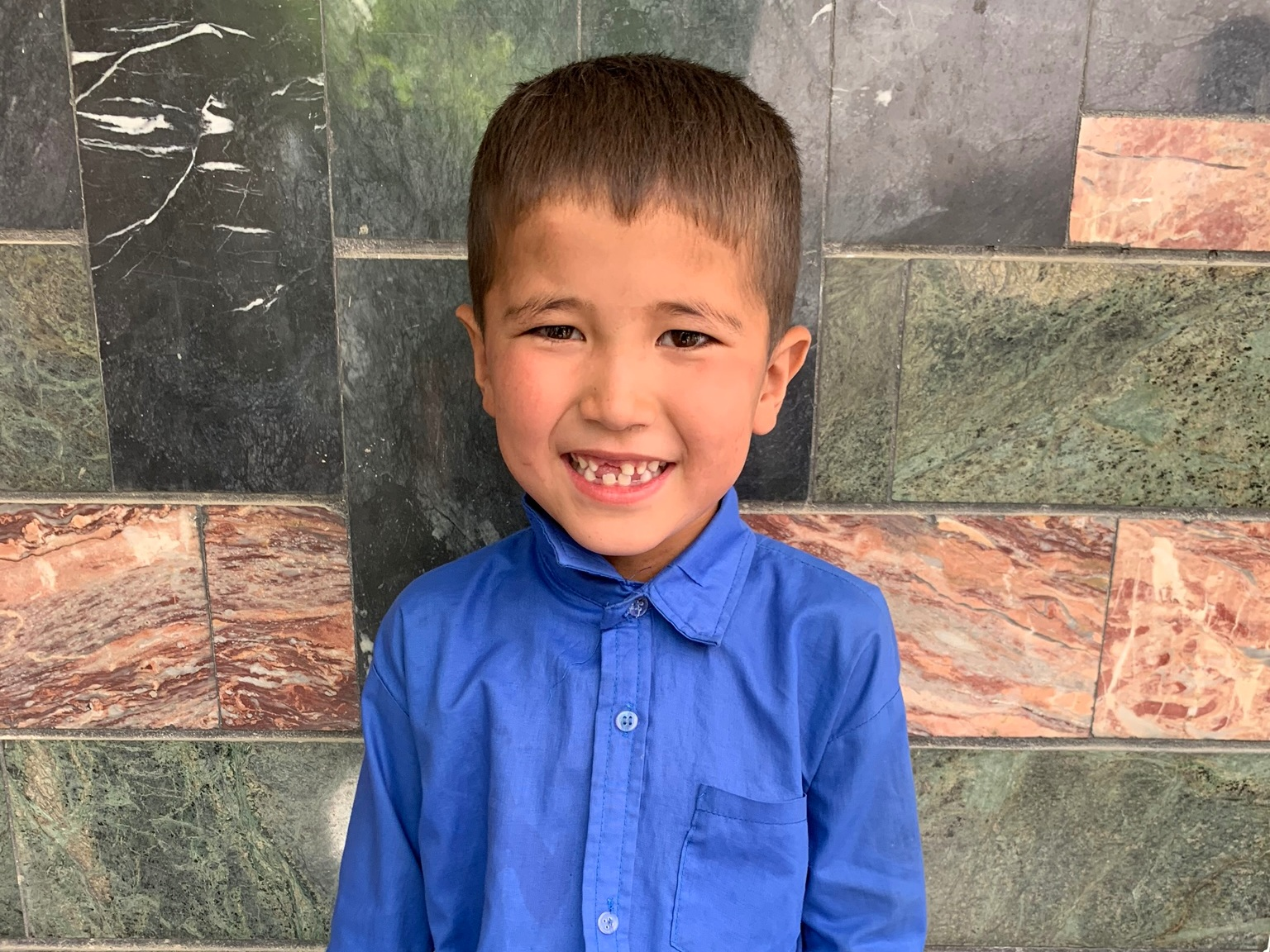 Suliman, Age 7 - Suliman has 6 siblings. His mother does not have work at this time. His father is a shoemaker.BE SULIMAN'S PARTNER>