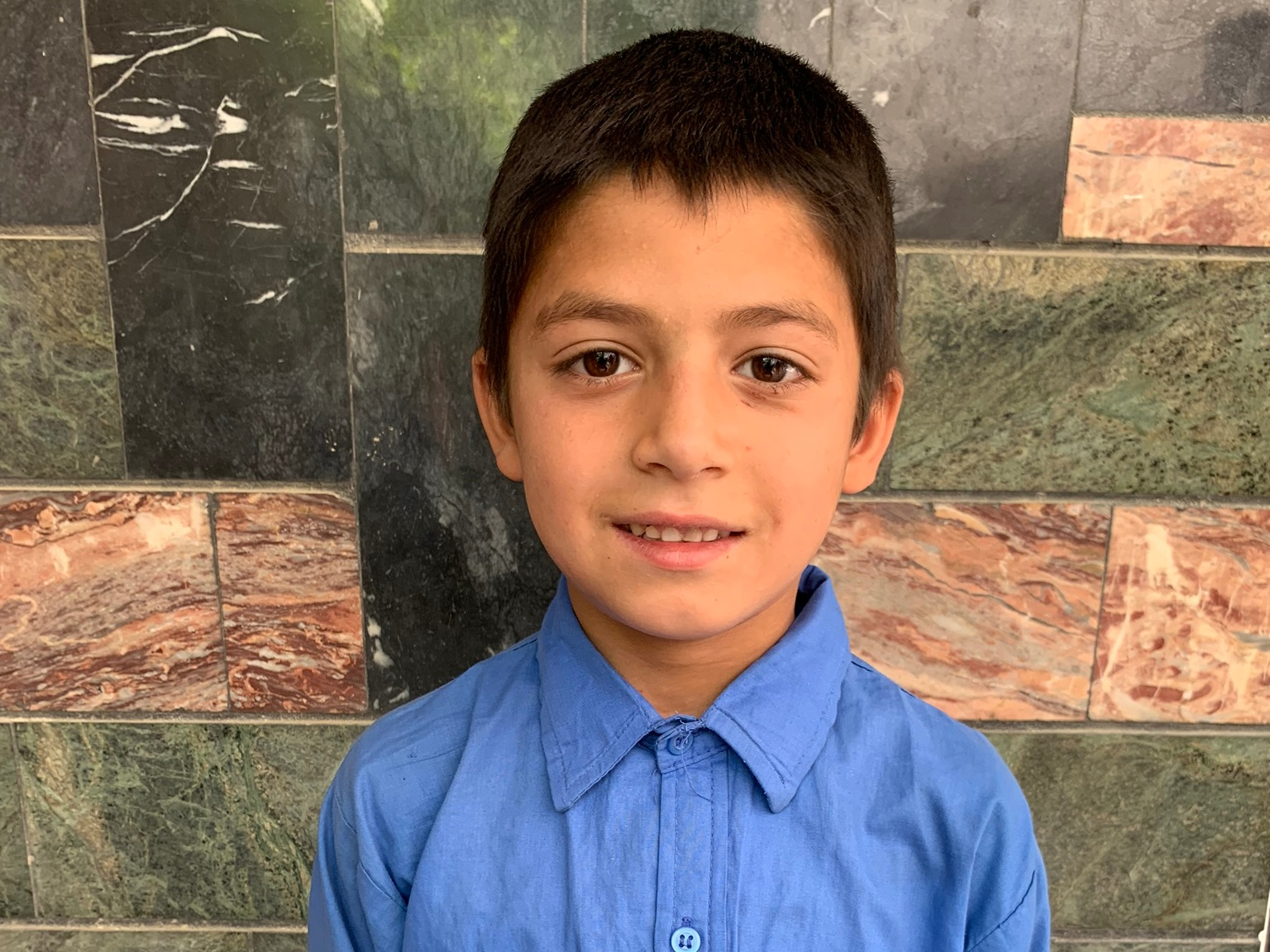 Yosof, Age 7 - Yosof has 4 siblings. His mother is currently unemployed. His father is a painter.BE YOSOF'S PARTNER >