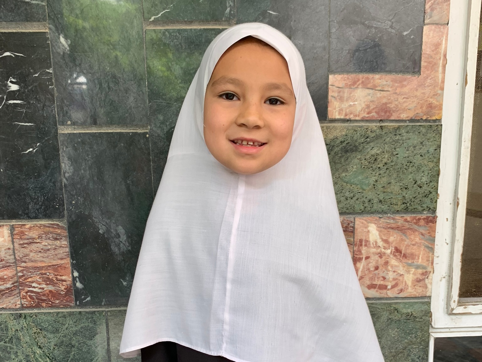 Fatima E., Age 8 - Fatima has 4 siblings. Her mother does not have work at this time. Her father is a shopkeeper.BE FATIMA E'S PARTNER>