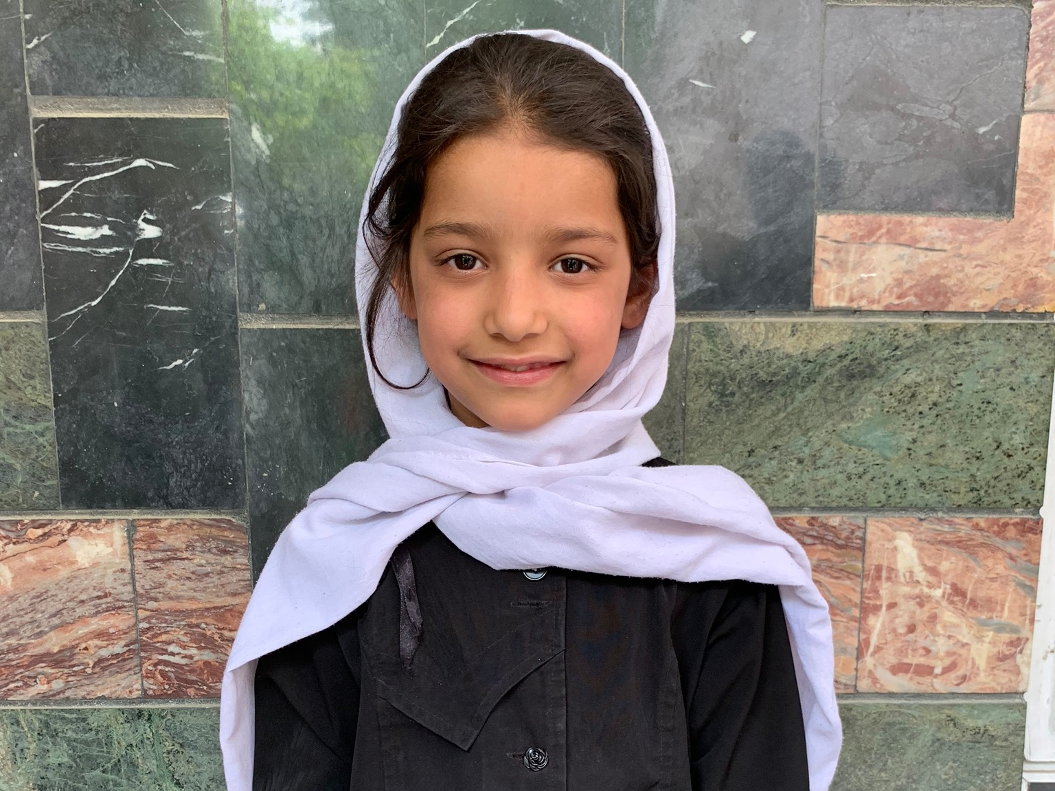 Naeid, Age 7 - Naeid has 3 siblings. Her mother is unemployed. Her father is a shopkeeper.BE NAEID'S PARTNER>
