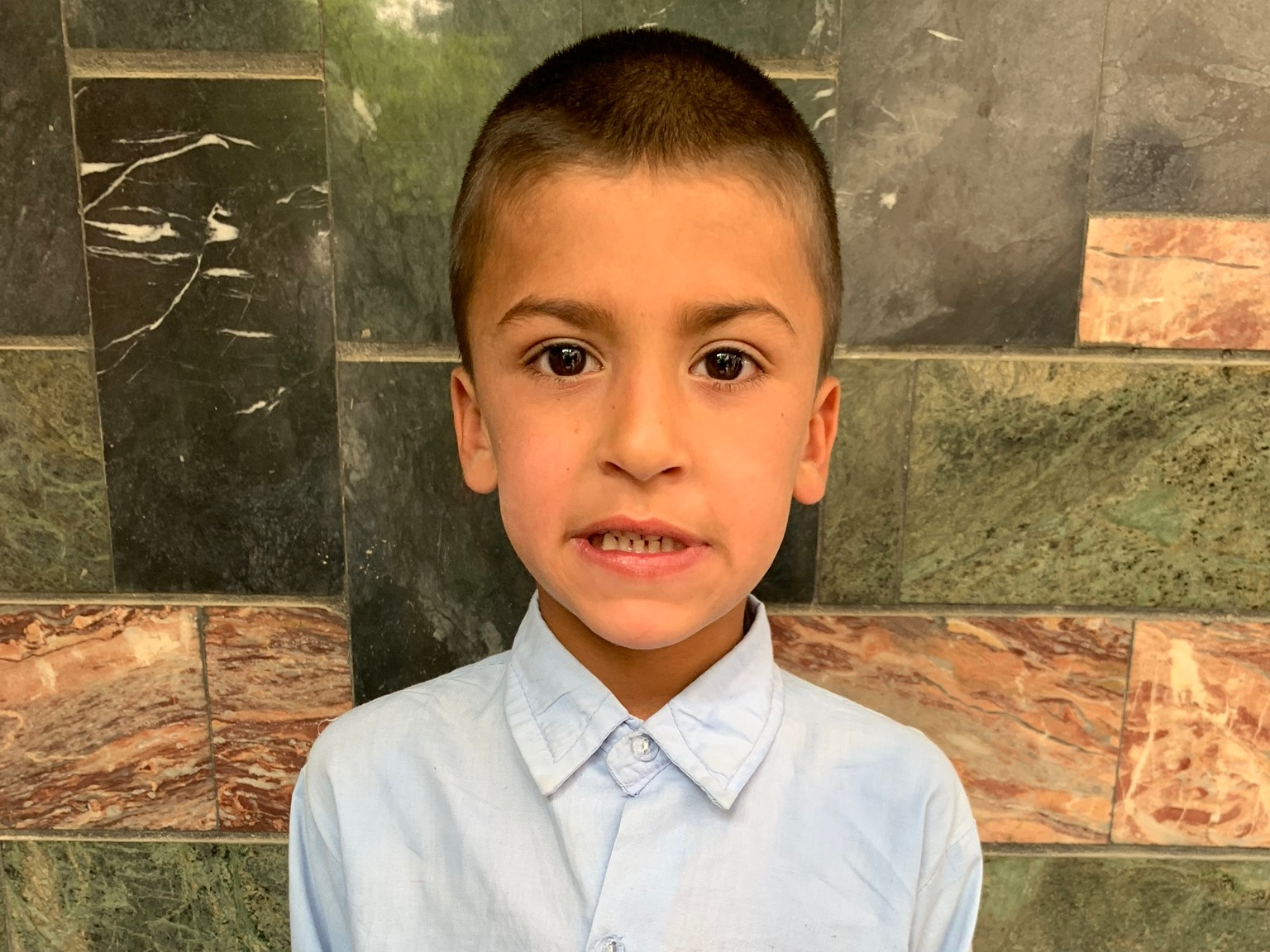 Sahil, Age 8 - Sahil has 3 siblings. His mother and father are both unemployed at this time.BE SAHIL'S PARTNER>