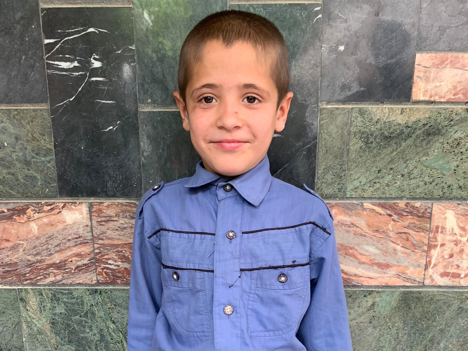 Naseem, Age 10 - Naseem has 6 siblings. His mother does not have work at this time. His father is a beggar.BE NASEEM'S PARTNER>