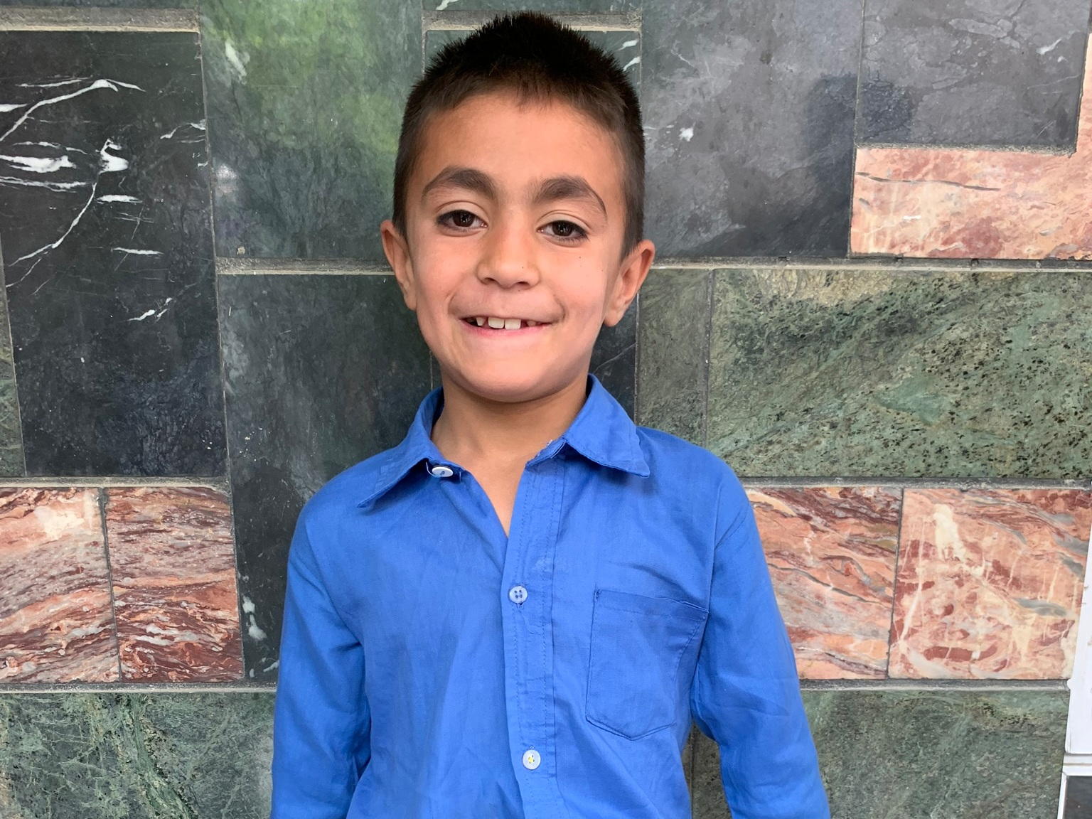 Ahmad Melot, Age 8 - Ahmad Melot has 3 siblings. His mother is unemployed and his father sells vegetables.BE AHMAD MELOT'S PARTNER>