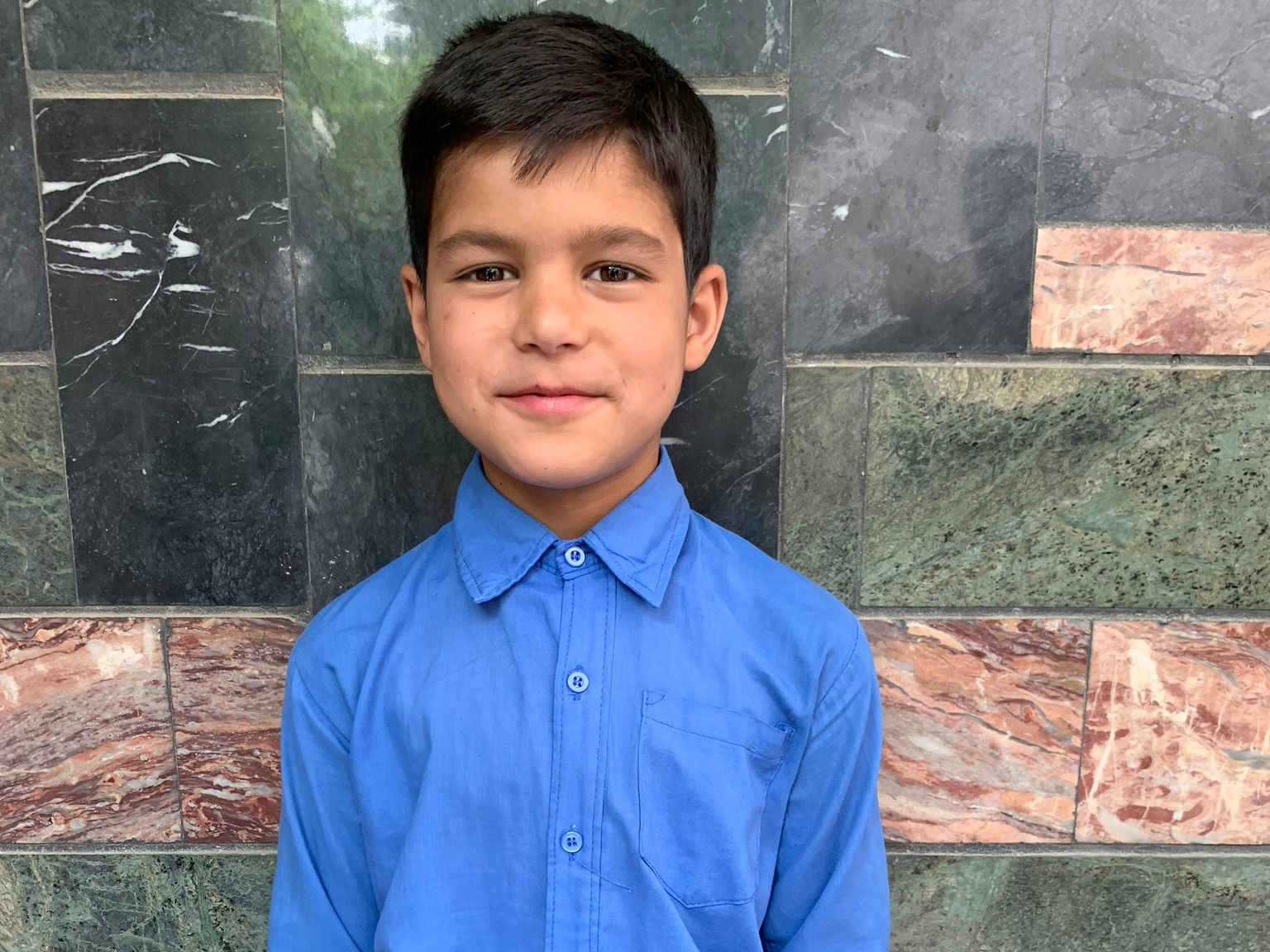Benjamin, Age 9 - Benjamin has 3 siblings. His mother is unemployed and his father is a driver.BE BENJAMIN'S PARTNER>