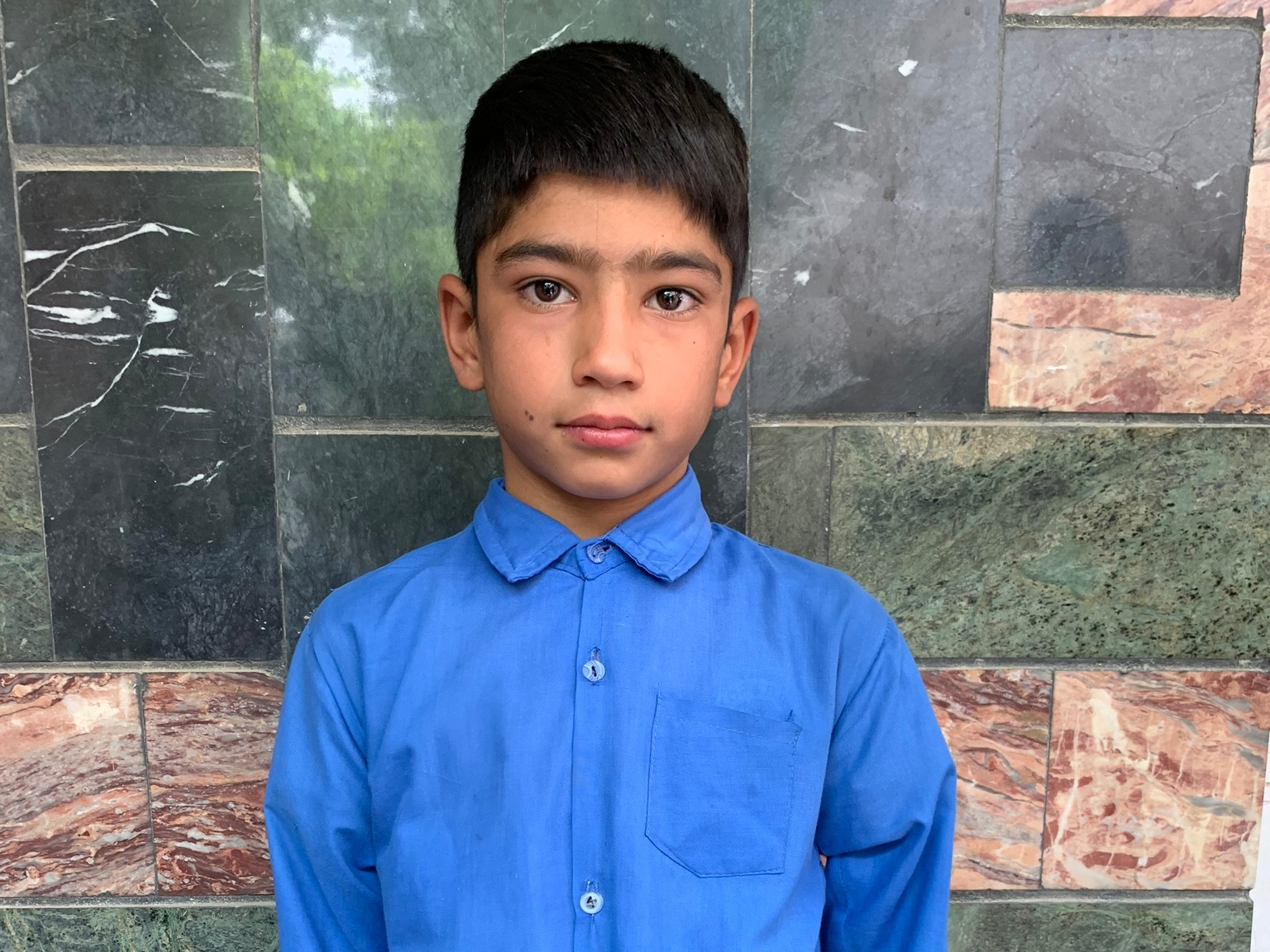 Masood, Age 9 - Masood has 5 siblings. His mother and father are both unemployed.BE MASOOD'S PARTNER>