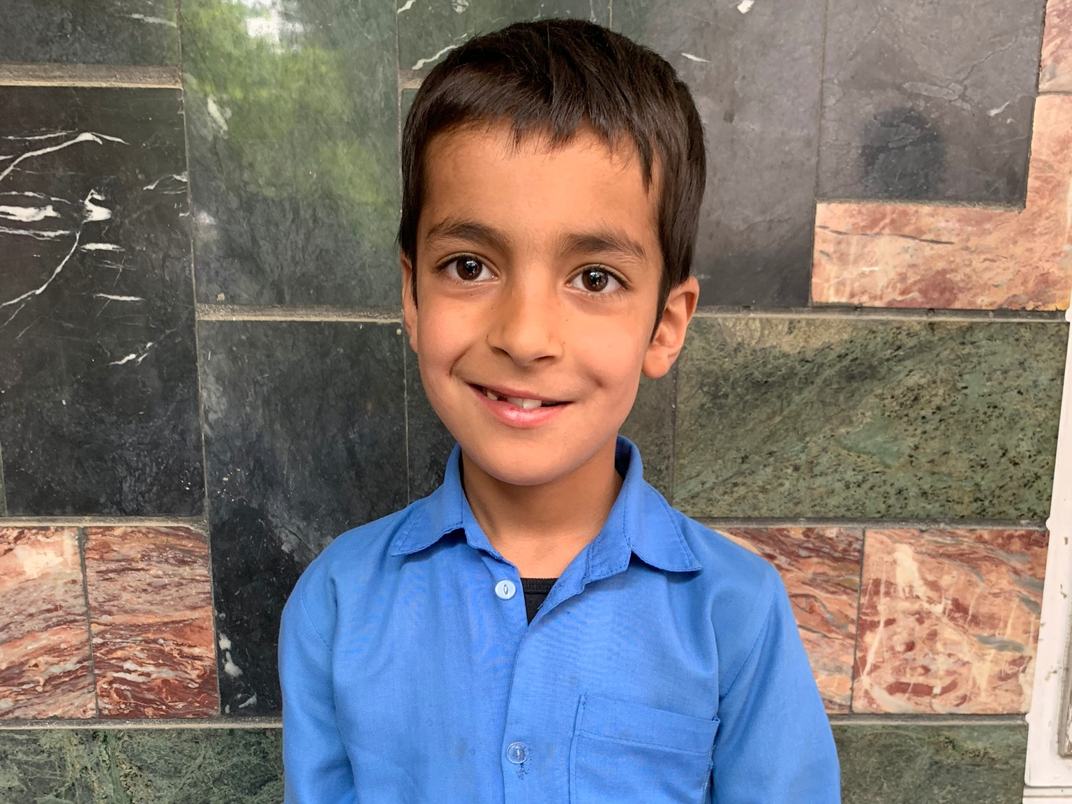 Faiyaz, Age 9 - Faiyaz has 4 siblings. His mother does not have work at this time. His father sells vegetables.BE FAIYAZ'S PARTNER>