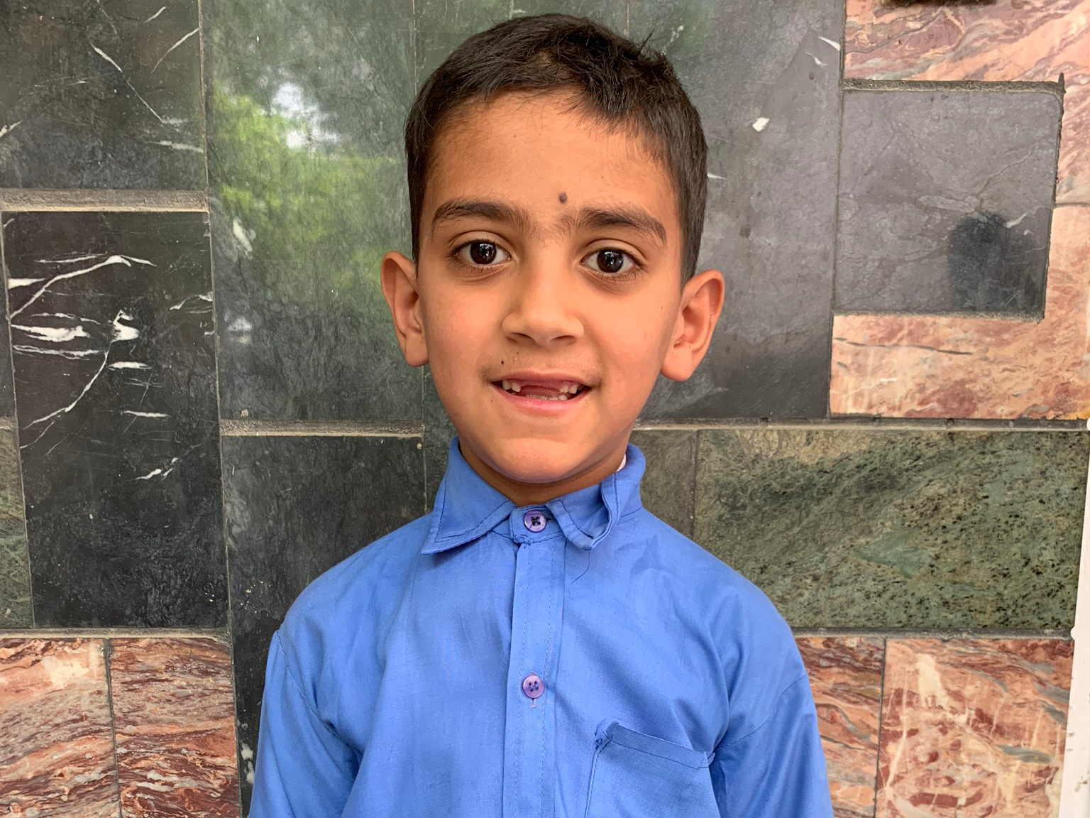 Samir, Age 7 - Samir has 4 siblings. His mother is unemployed and his father is a day laborer.BE SAMIR'S PARTNER>