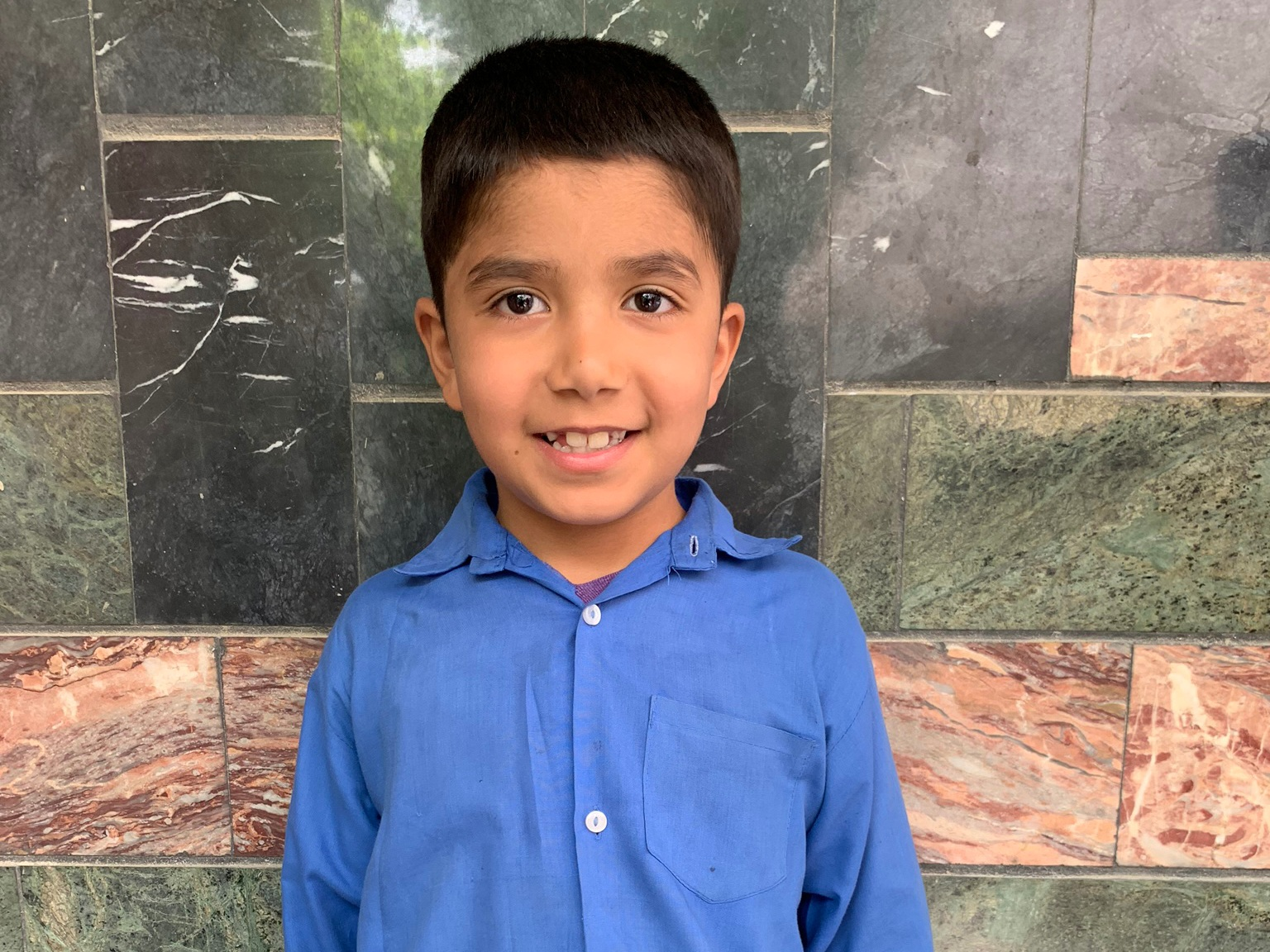 Sohail, Age 7 - Sohail has 2 siblings. His mother is unemployed and his father is a driver.BE SOHAIL'S PARTNER>