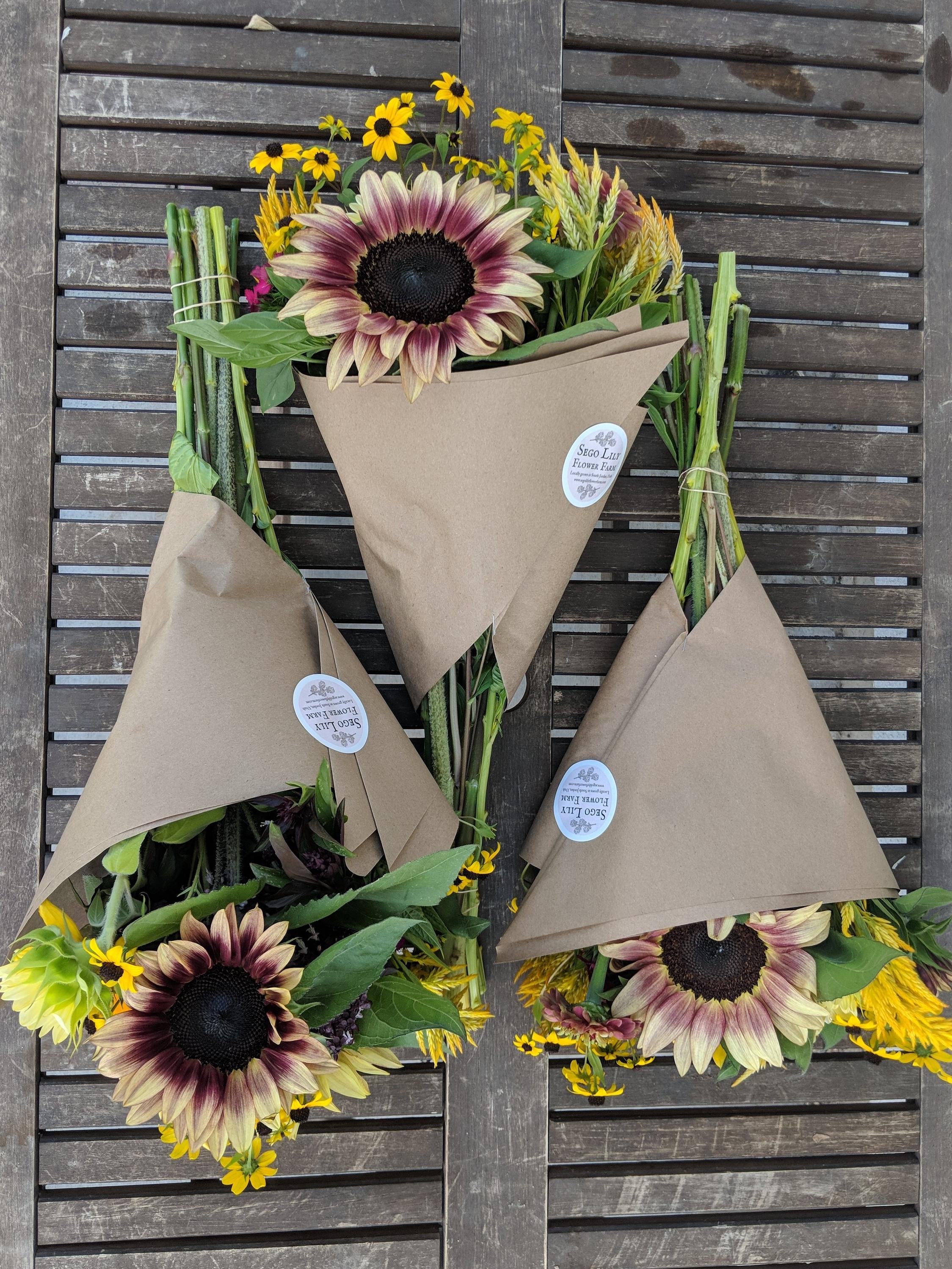 Seasonal Fall bouquet