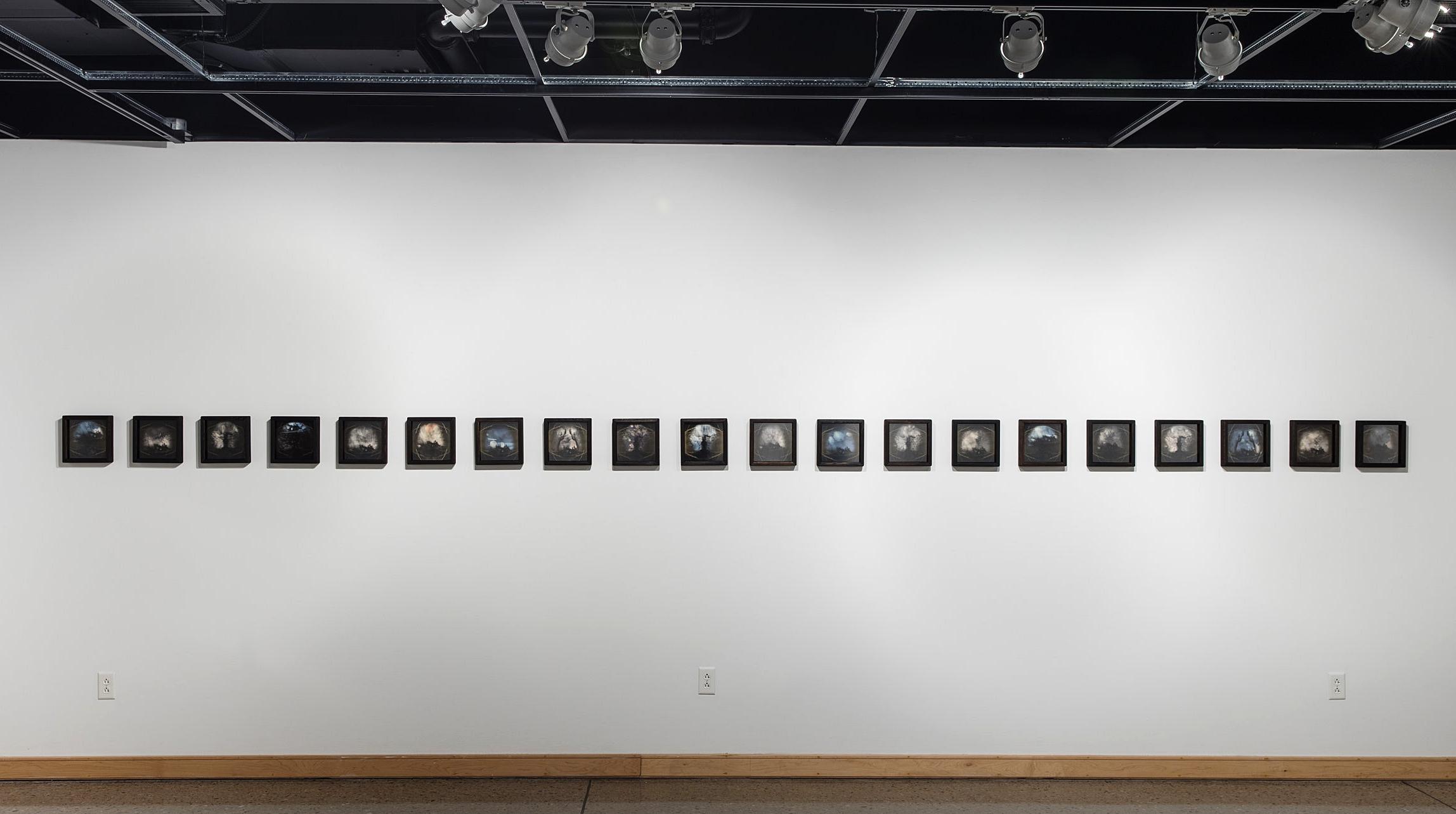 Install Pic.Steckline Gallery, Newmann University, Wichita, KS