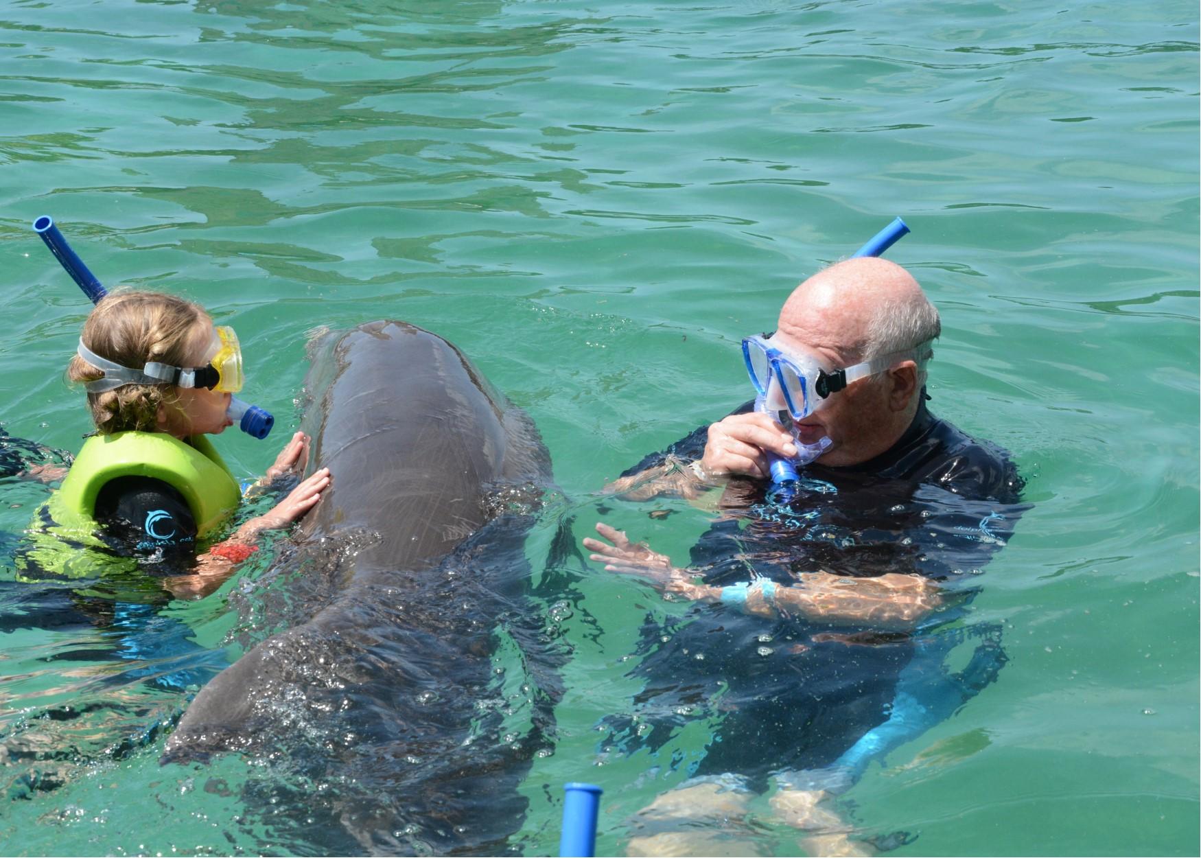 hallie and pops dolphin play.jpg