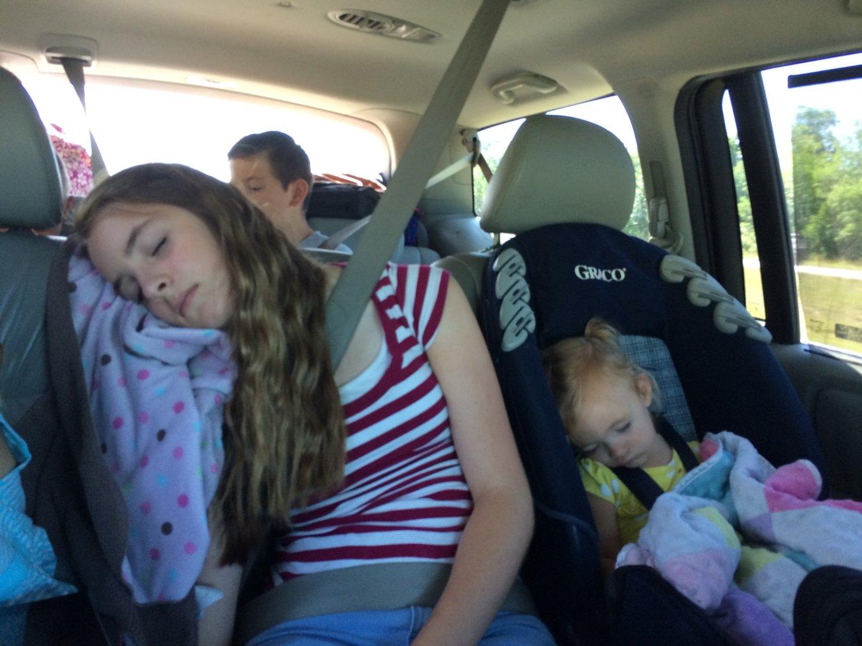 kirtland snoozing in car.jpg