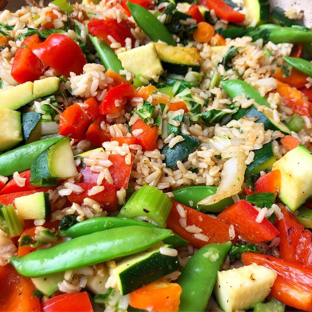 vegan veggie stir fry with rice 2.JPG