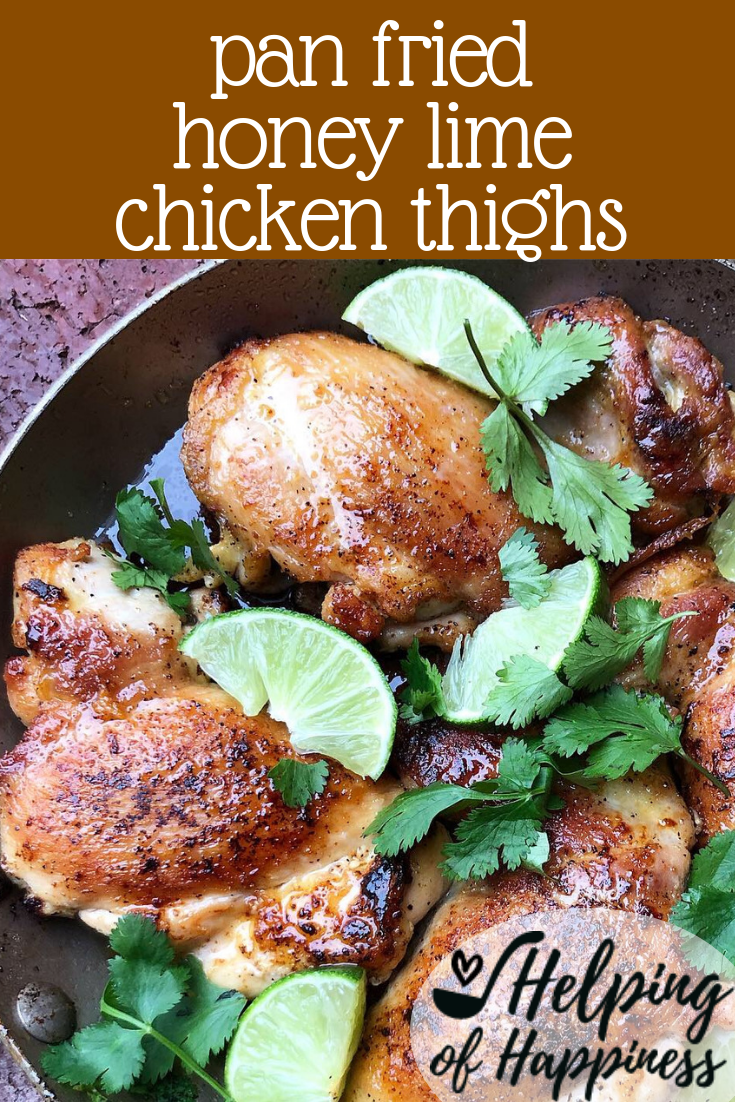 pan fried honey lime chicken thighs pin 2.png