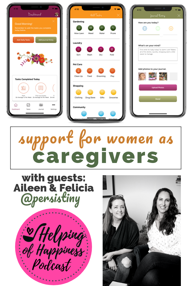 persistiny support for women as care givers pin 2.png