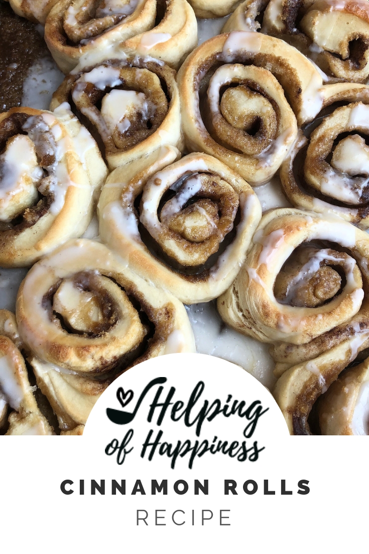 Click here for our  Cinnamon Roll Recipe! !