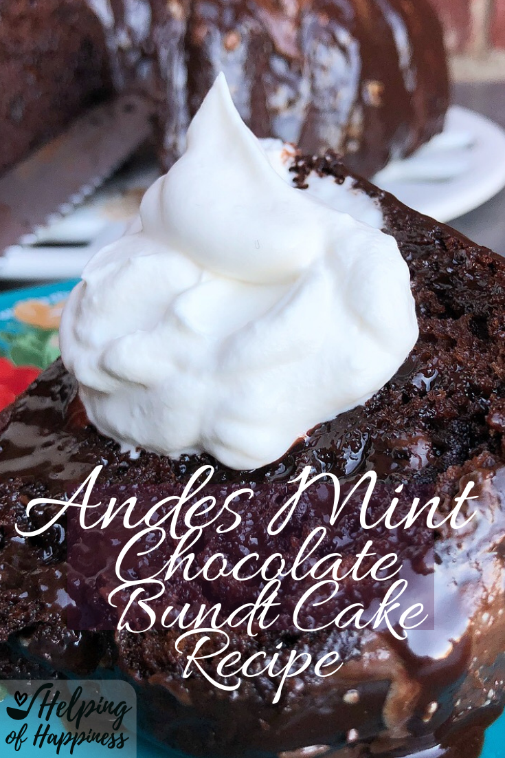 Click  here  for our Andes Mint Bundt Cake Recipe