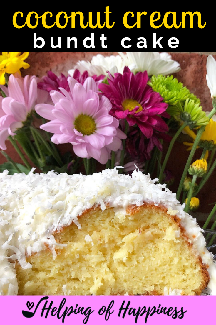 Click  here for our Coconut Cream Bundt Cake Recipe