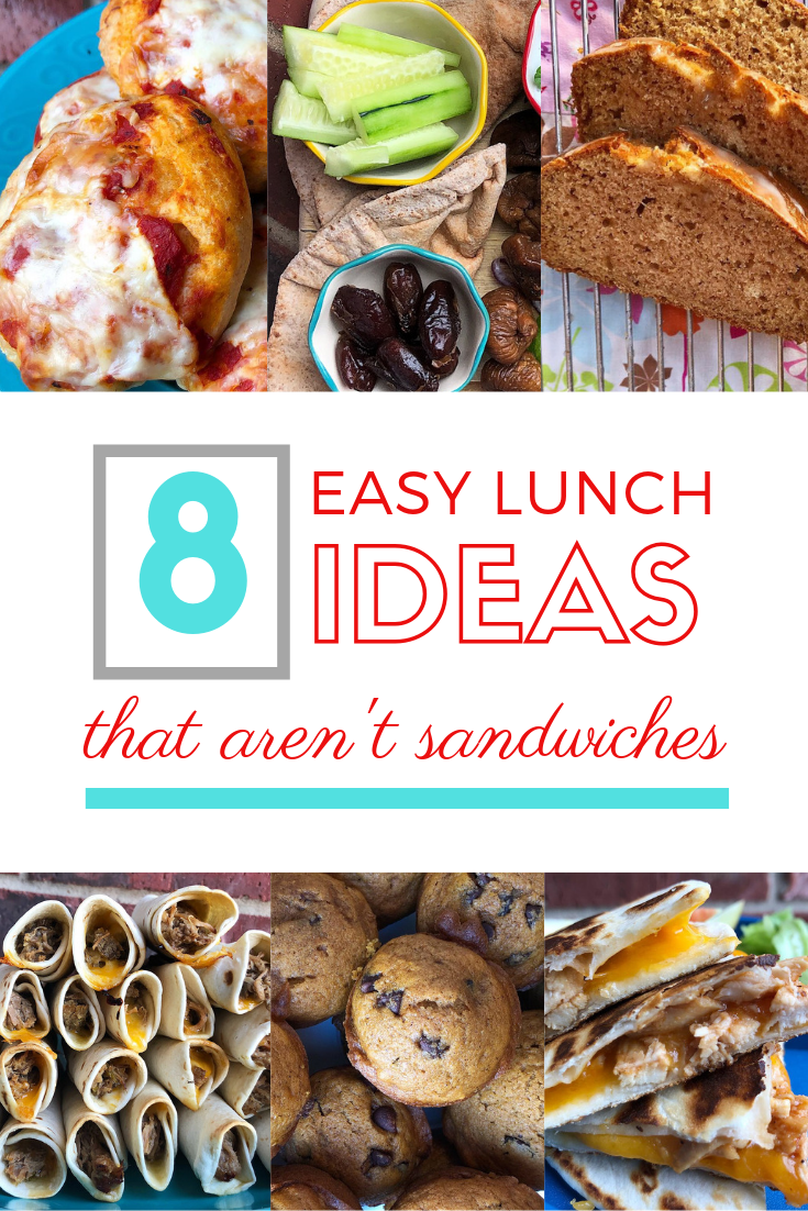 8 easy  lunch ideas that aren't sandwiches food collage 1.png