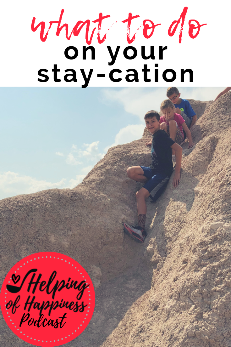what to do on your stay cation episode 70 pin.png