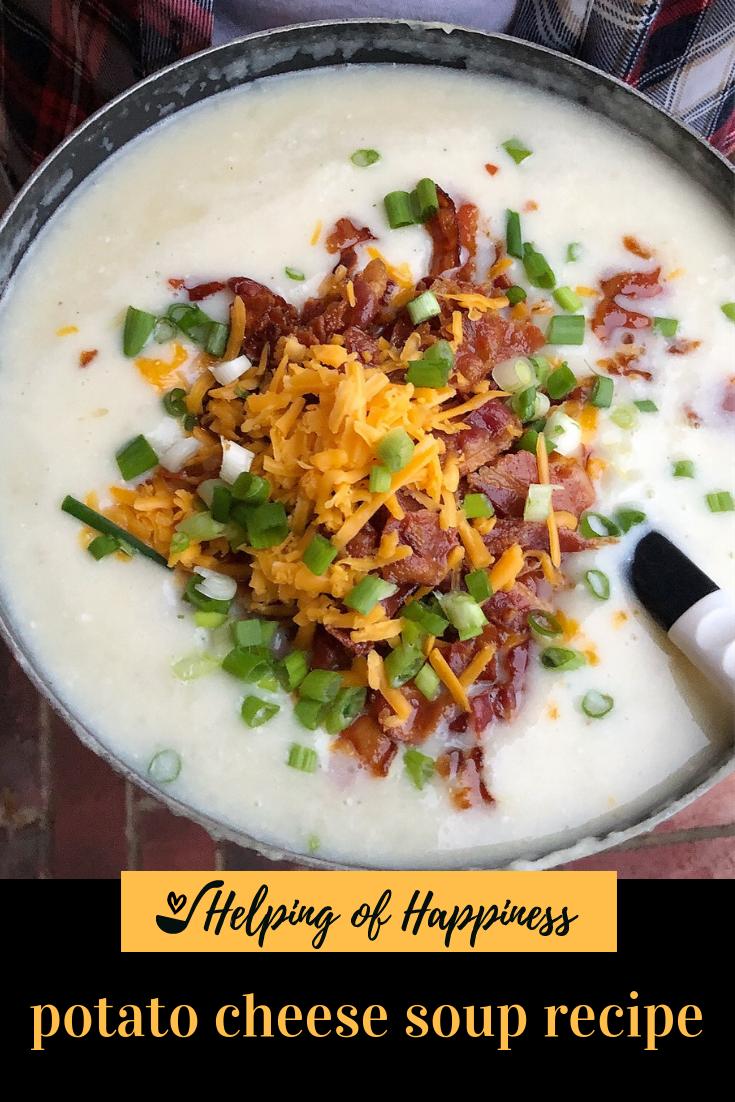 Click  here for Potato Cheese Soup recipe