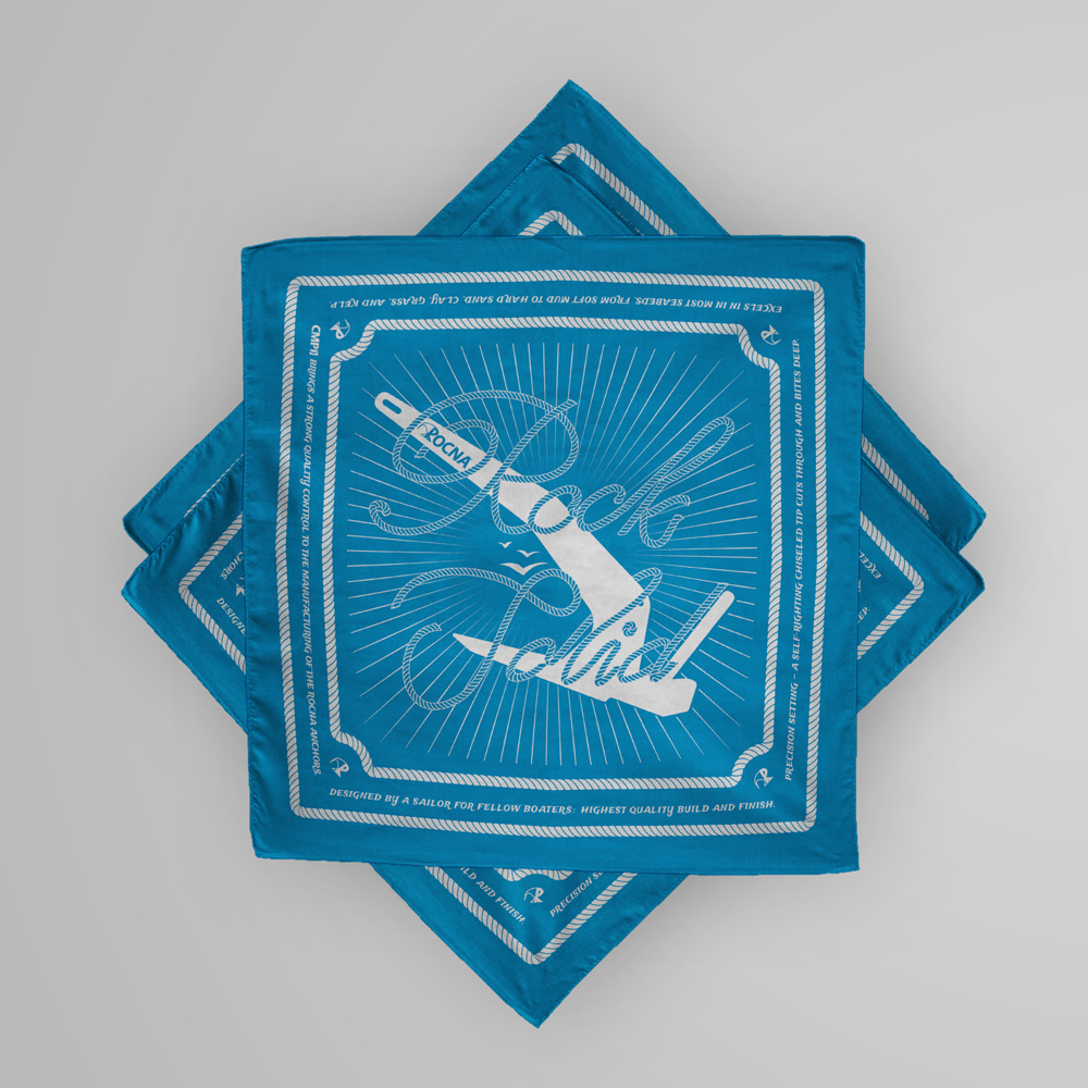 Rock Solid Bandanas — Ksenia M  / Graphic Design
