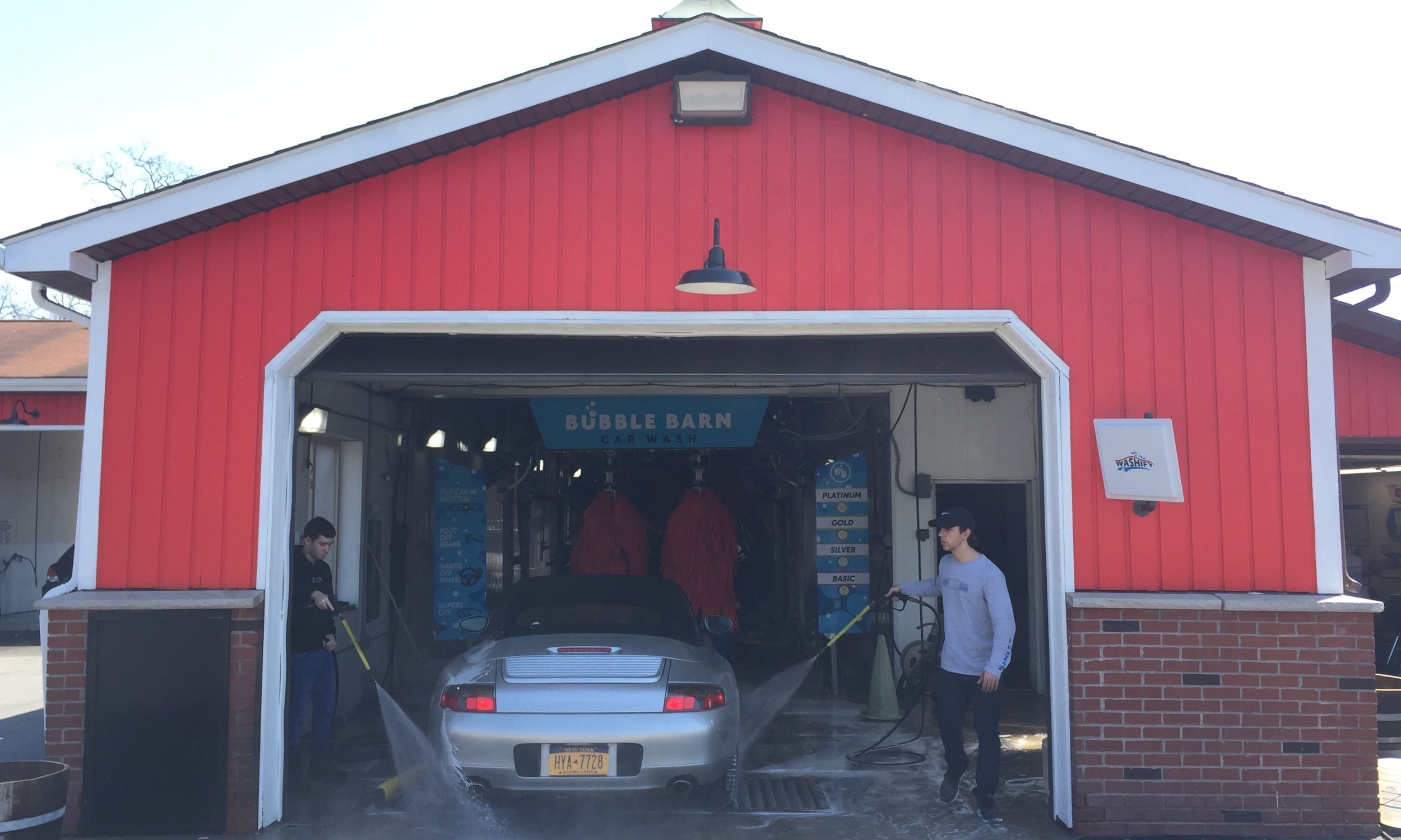 Car Wash Barn >> Bubble Barn Car Wash