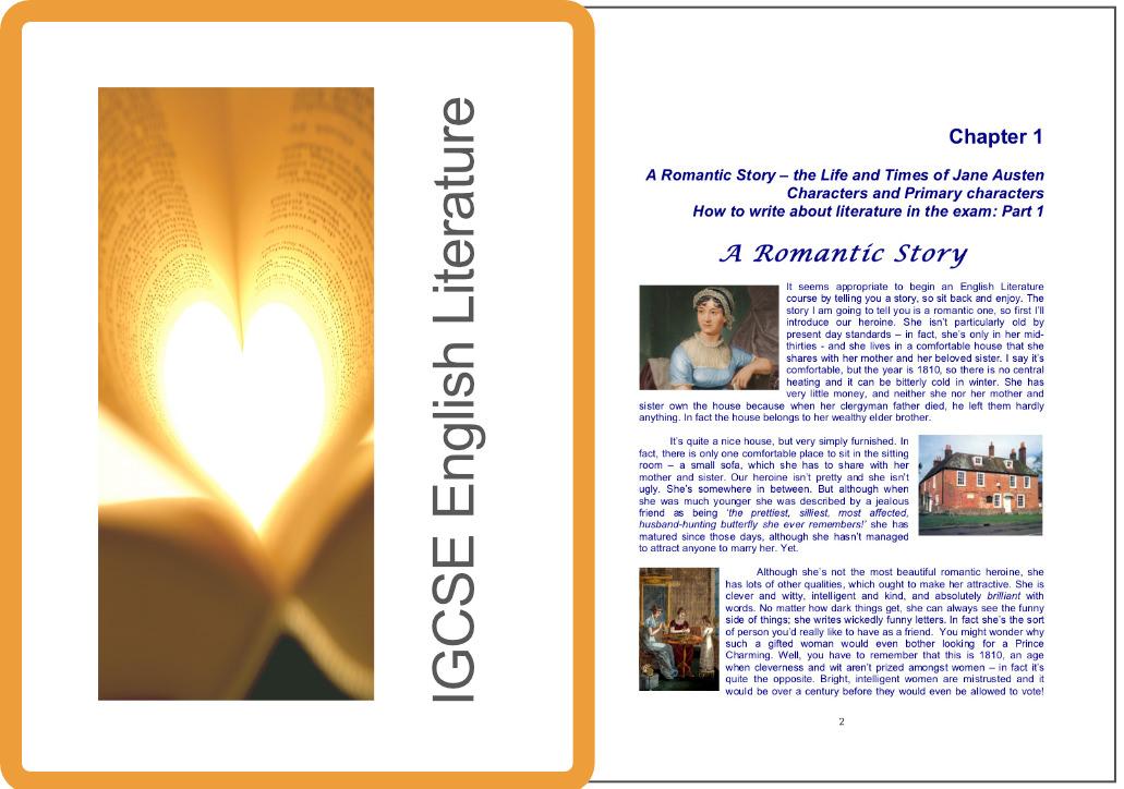 IGCSE English Literature Sample