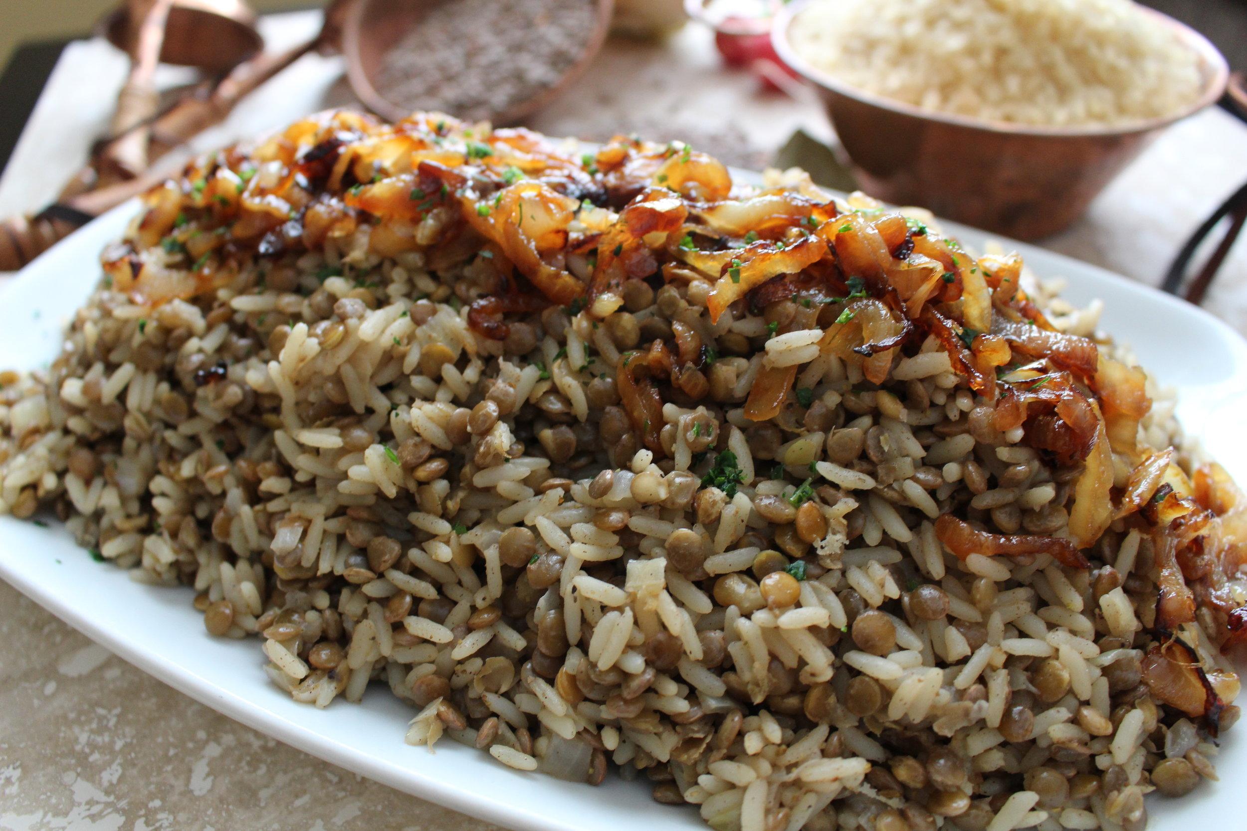Mujadara Rice