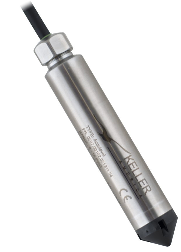 High Accuracy Analog Digital Submersible Level Transmitter - NSF 61 & NSF 372 Approved