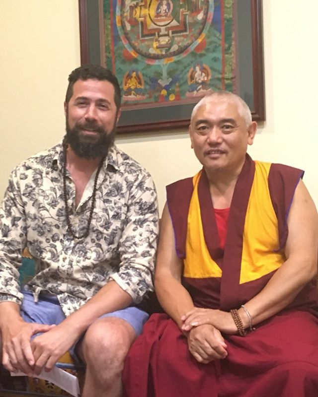 Bumping into Geshe's #louisville