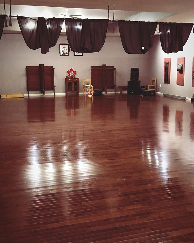 Check out our new Sunday class venue at 3364 Michigan Ave Detroit. @detroitkungfuacad  Huge dance floor, two bathrooms with showers. Dress in comfy layers, hydrate and bring a friend. @dancemeditationtechnique