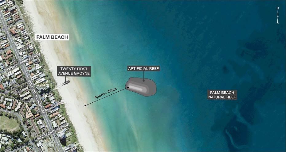 The Plan from above. Courtesy of beachesgoldcoast.com