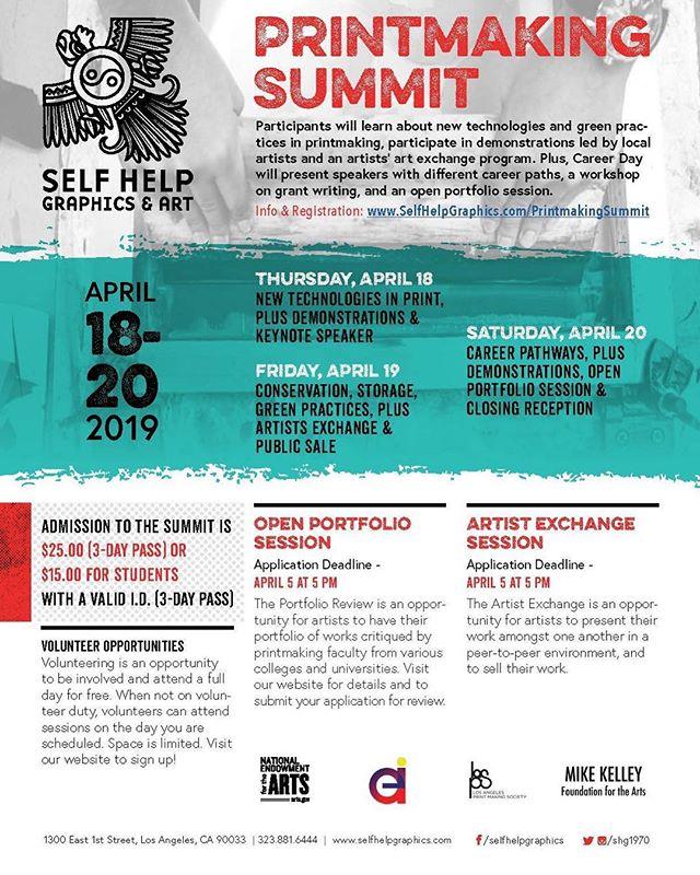 2019 Printmaking Summit