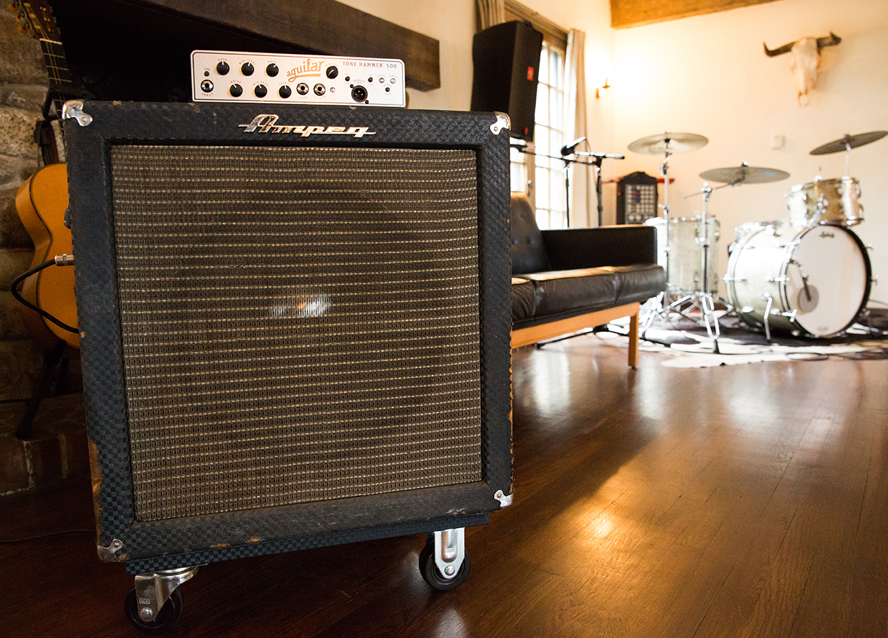 1964 Ampeg B-15 Extension Cab