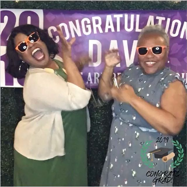 Congrats Davis! Thanks for having us at your graduation party! 🎓 🎉 #creativebooth#photobooth#nashvillephotobooth#graduationparty#nashvilleevents#experientialevents #classof2019