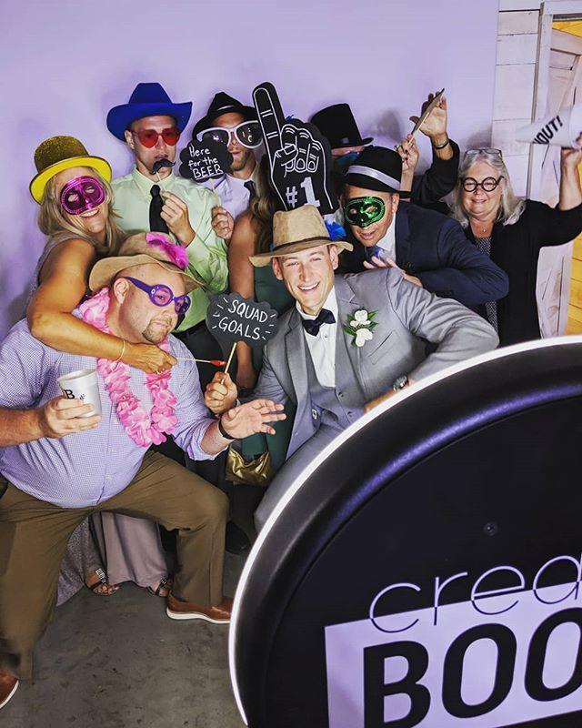 Last night's wedding was a blast!