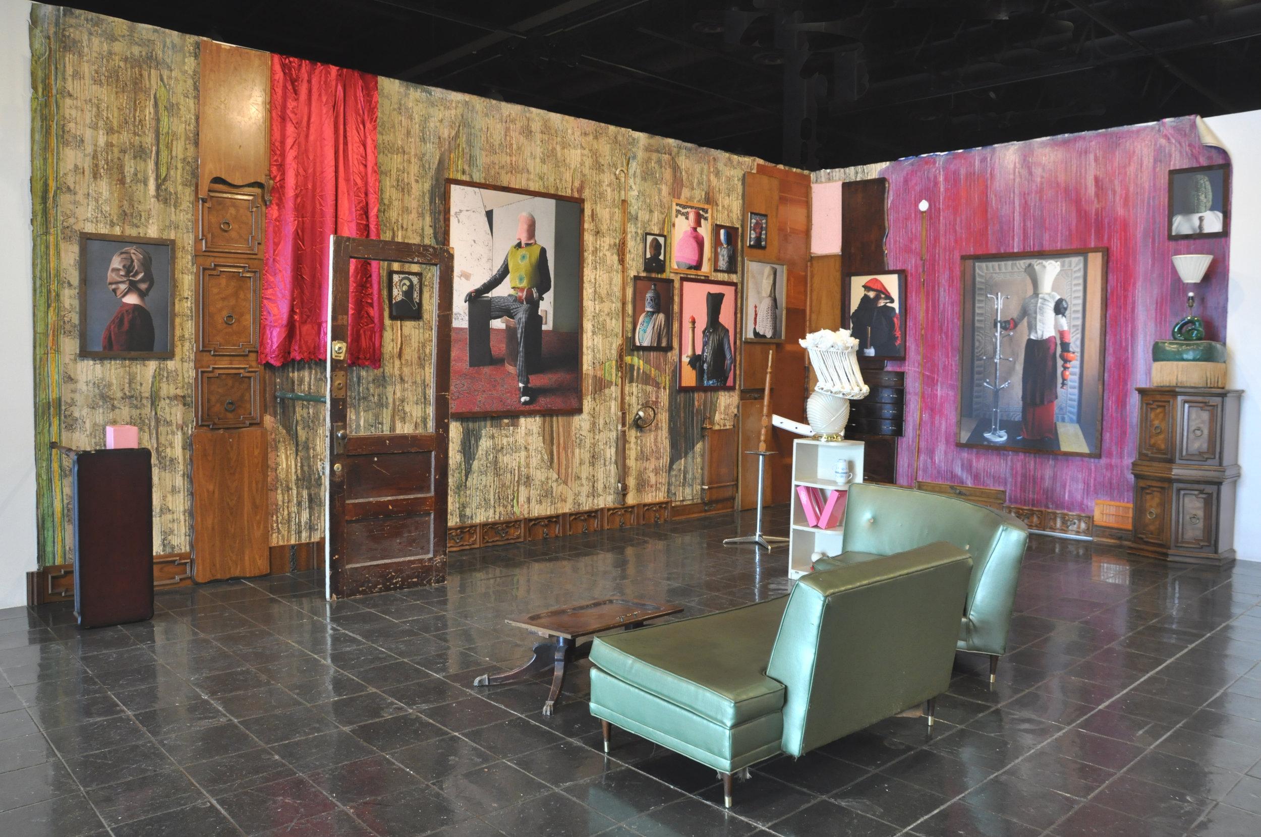 Thorsten Brinkmann, installation of  Villa Silverbaum , from the series  Portraits of a Serialsammler , 2005–present;13 c-prints and installation;courtesy of the artist and Galerie Kunstagenten, Berlin
