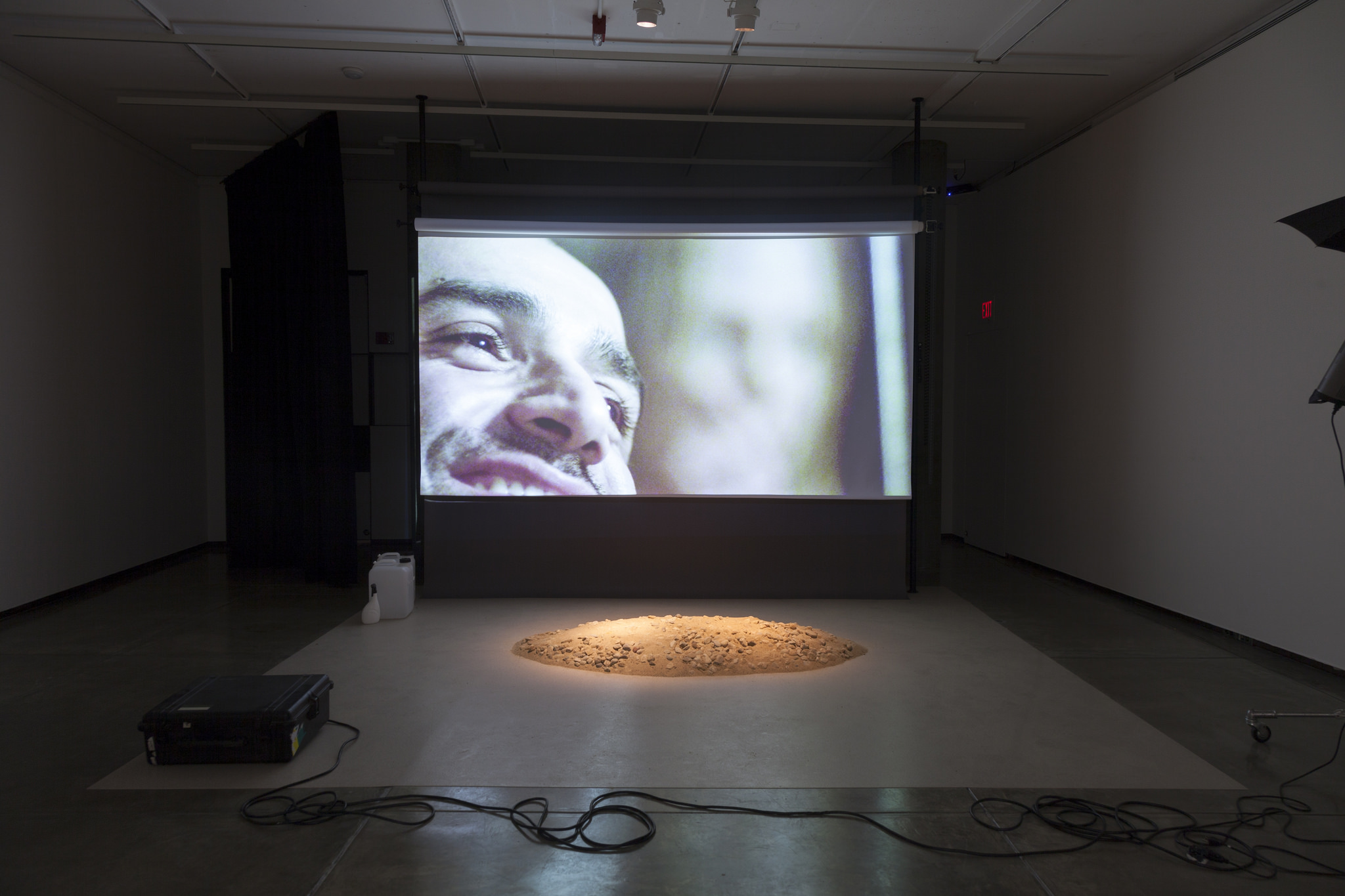 Installation view: Simon Fujiwara: Three Easy Pieces