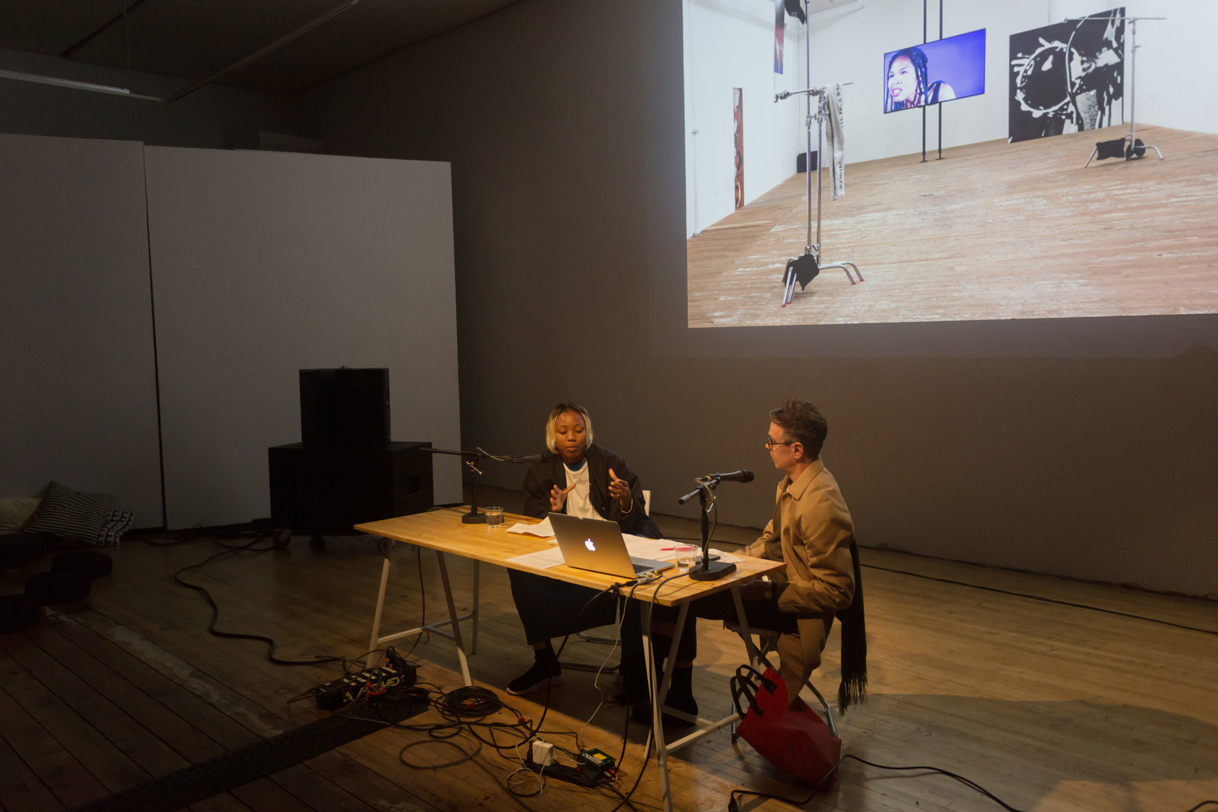 Martine Syms in conversation with James Voorhies, February 26, 2018. The Lab, San Francisco.