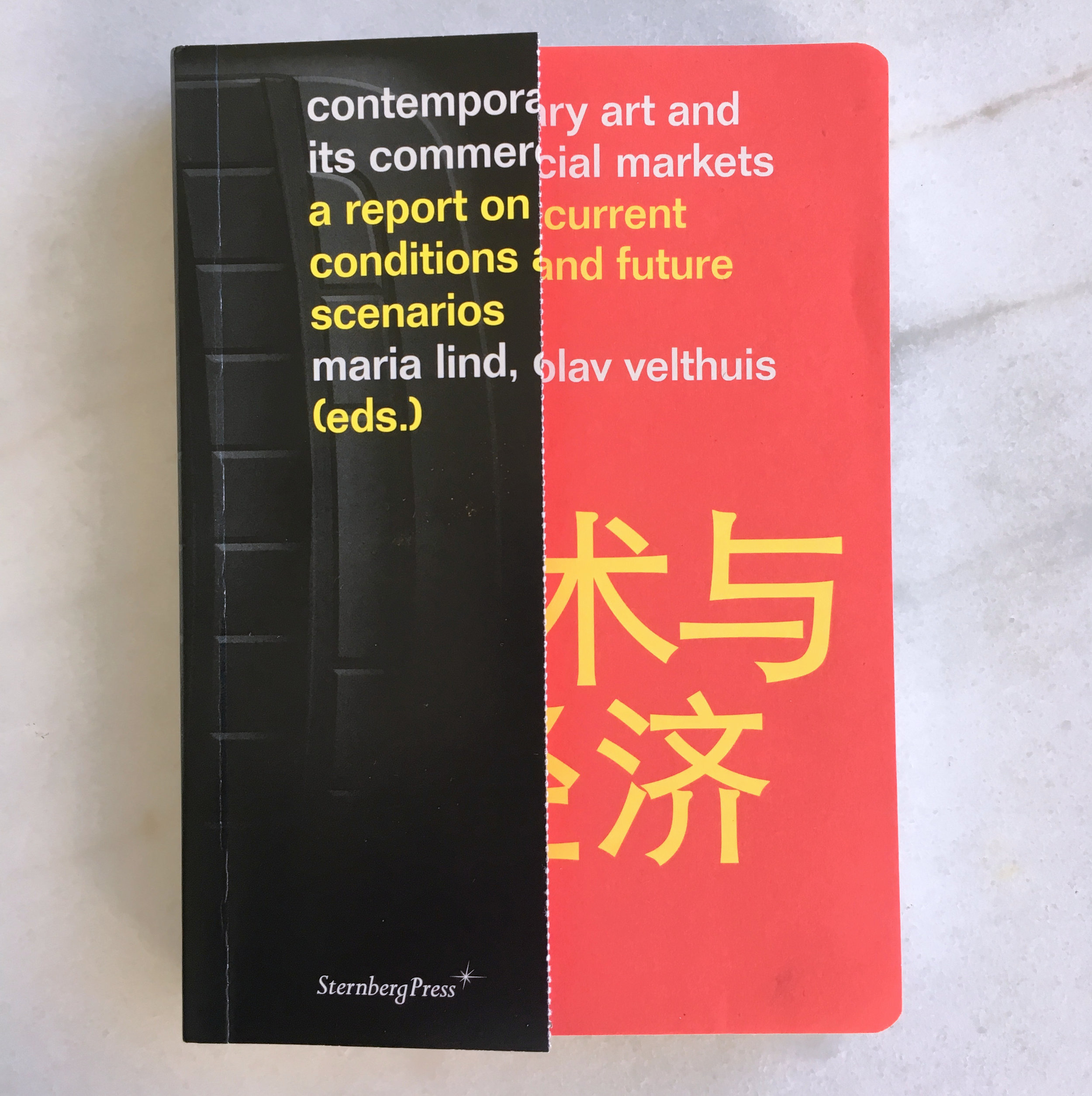 Contemporary Art and Its Commercial Markets: A Report on Current Conditions and Future Scenarios , edited by Maria Lind and Olav Velthuis (Berlin: Sternberg and Stockholm: Tensta konsthall, 2012).