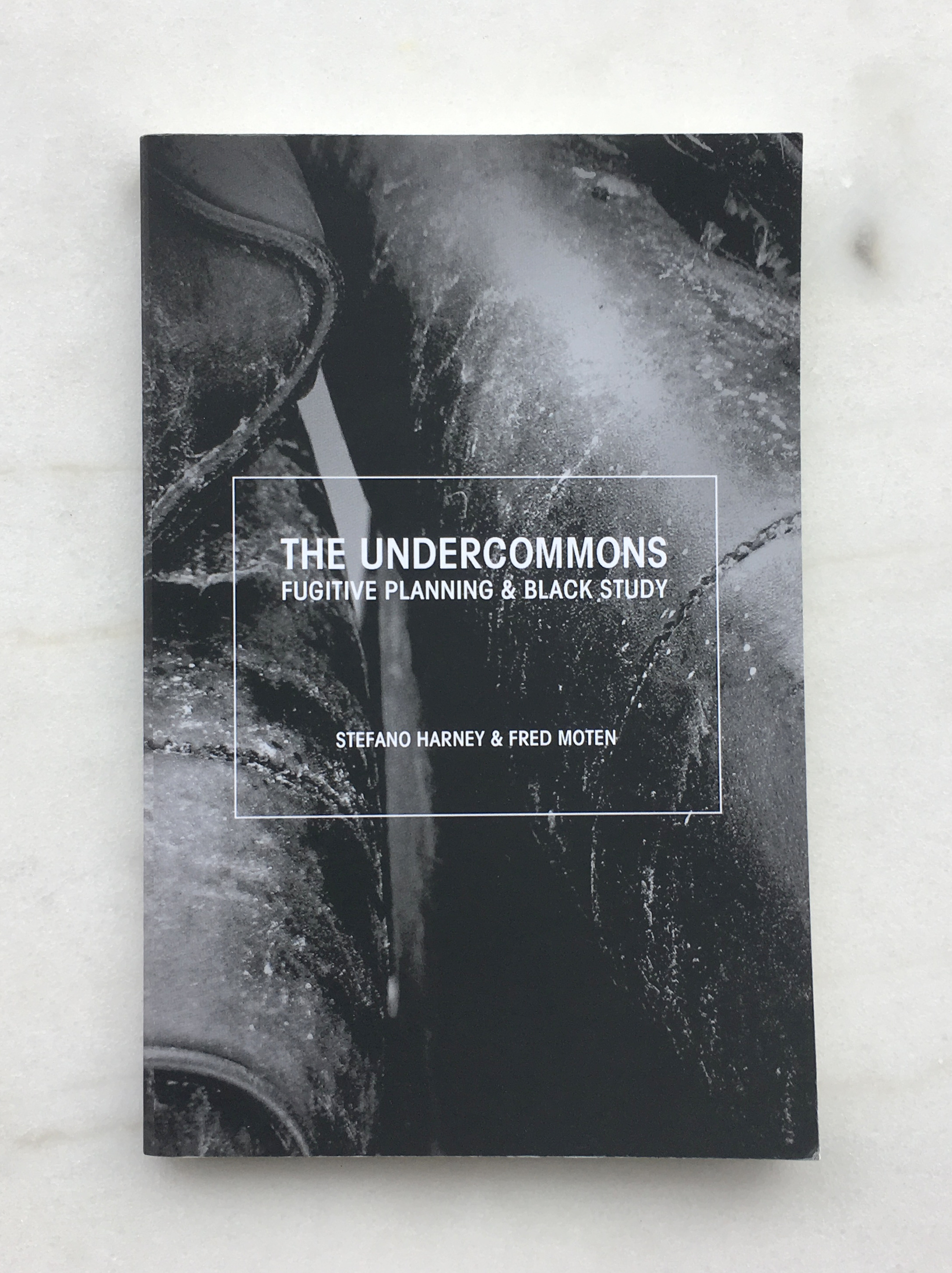 The Undercommons: Fugitive Planning and Black Study , by Fred Moten and Stefano Harney (New York: Minor Compositions, 2013).