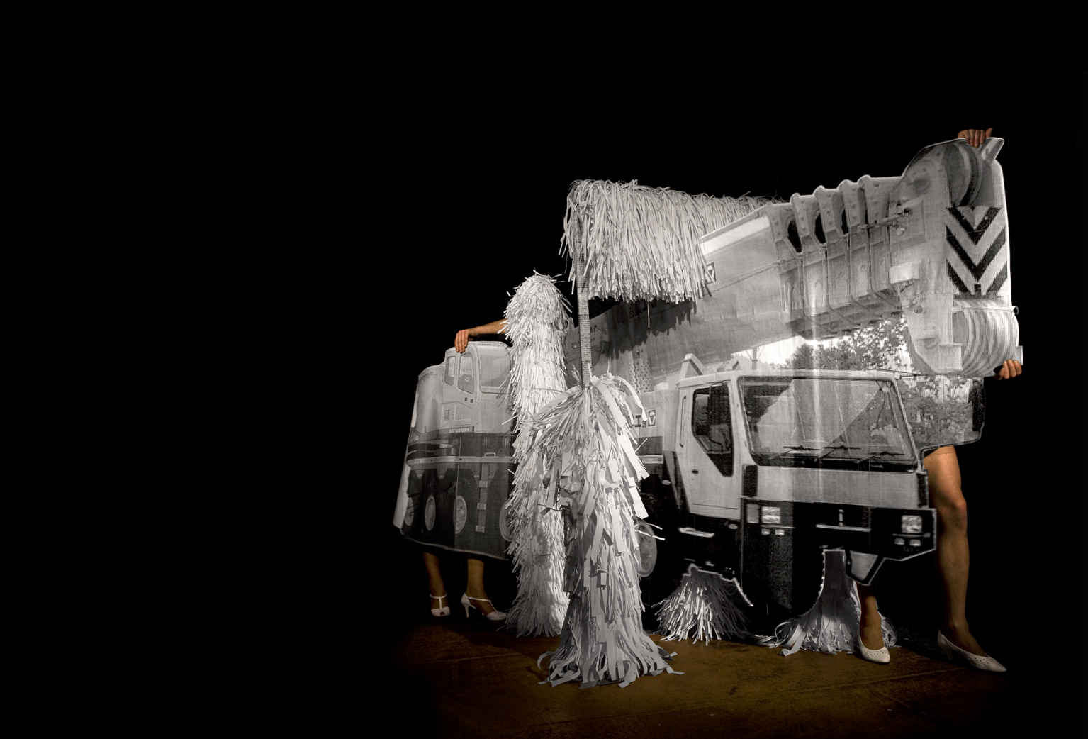 dry clean (truck), 31x23 inches