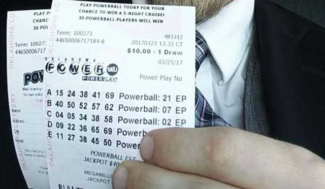 Oklahoma Lottery Article