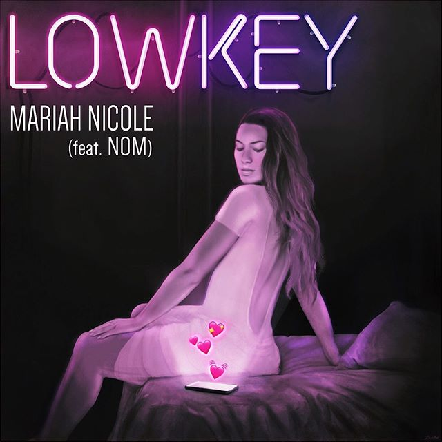 """Our first Artist Partner @mariah_akgrown Drops her first single """"Lowkey (feat. @official_nom_)12AM FRIDAY 6/14 ON ALL streaming PLATFORMS!!! Lowkey is the first single off her upcoming EP, Love Lessons 💘 which is 🔥 af! - - - - Artwork by:  @lluismartinez  Produced & Engineered by: @mrignit / @beatboxentus  A&R'd by: @beyond_ryan / @beatboxentus - #MariahNicoleMusic#LoveLessons#Lowkey#NewMusic#UpcomingArtist#ChicagoMusic#Chicago#BeatBoxEntertainment#NewEP#EP#ChicagoMusicScene"""