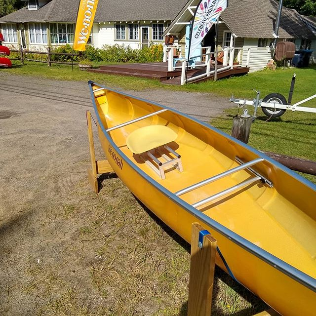 Thinking of picking up your first Kevlar canoe? Or maybe you want to add a new boat to your fleet? . Either way, we will have new and used ultra-light #kevlar #canoes available for sale at the Adirondack Canoe Classic finish line in @saranaclake on Sunday September 8th. Look for the Mac's tent! . . Wenonah models available will be: Prism Minnesota II Minnesota III Minnesota IV Itasca . Contact us today to discuss your new-to-you 🛶! . . #macscanoelivery #kevlarcanoe #canoeforsale #90miler #adirondacks #adirondackcanoeclassic #paddleadk #saranaclake #pricedtosell #newtoyou