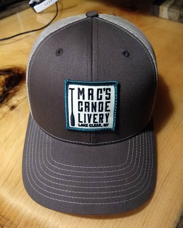 Looking to cap off your summer with a new, sharp looking hat? You're in luck! . . We have a limited amount of these Mac's trucker hats available for $25 a piece. Call, email or DM to get your hands on one! . . . #macscanoelivery #lakeclear #truckerhat #canoe #swag #punsdontstop